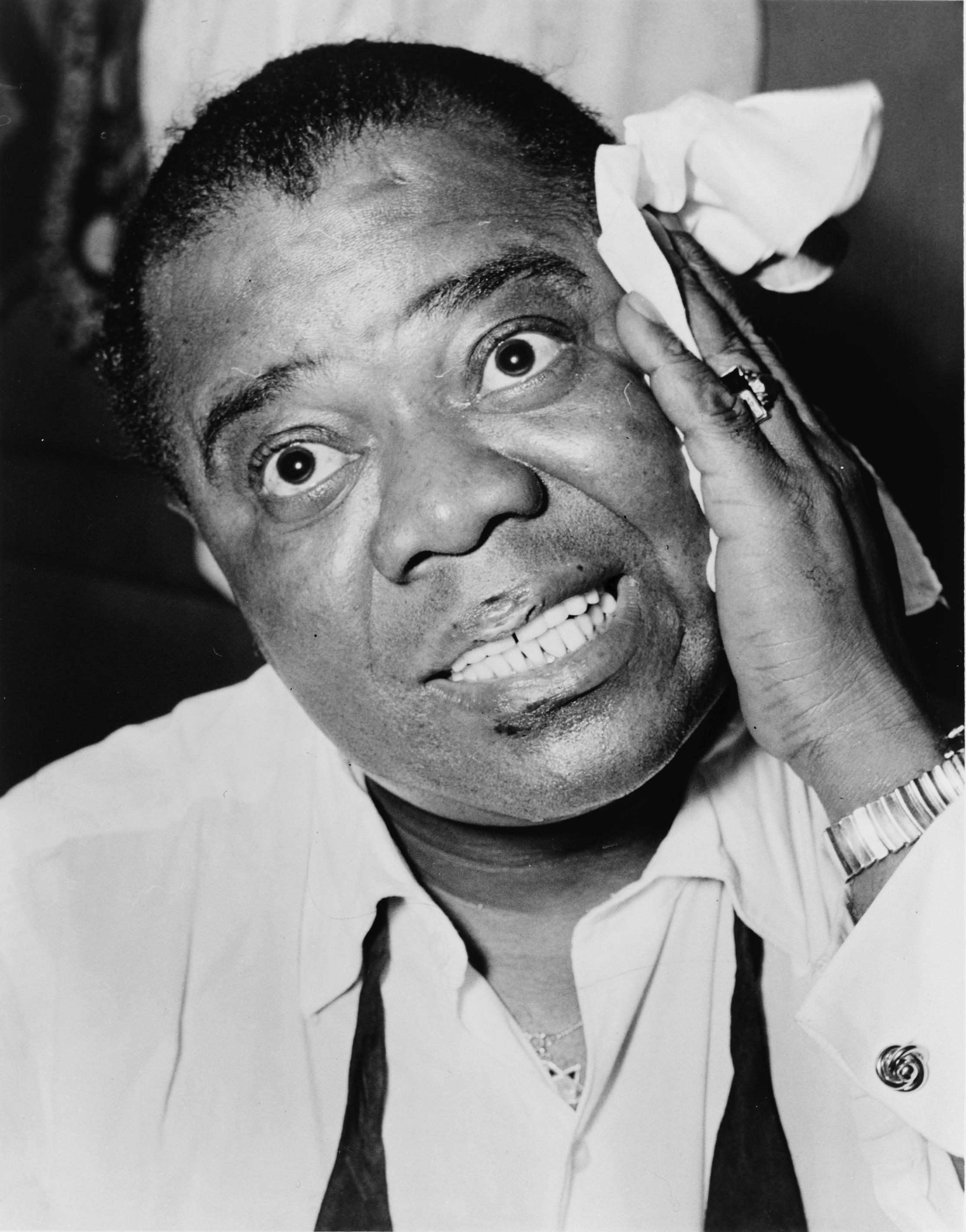 louis armstrong The california concerts (1951) cd 1 when it's sleepy time down south (opening theme) (back home again in) indiana (live 1951 pasadena civic.