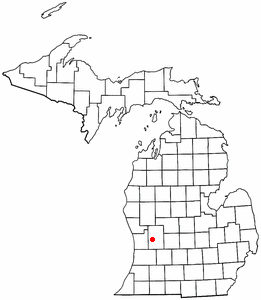 Location of Grand Rapids, Michigan