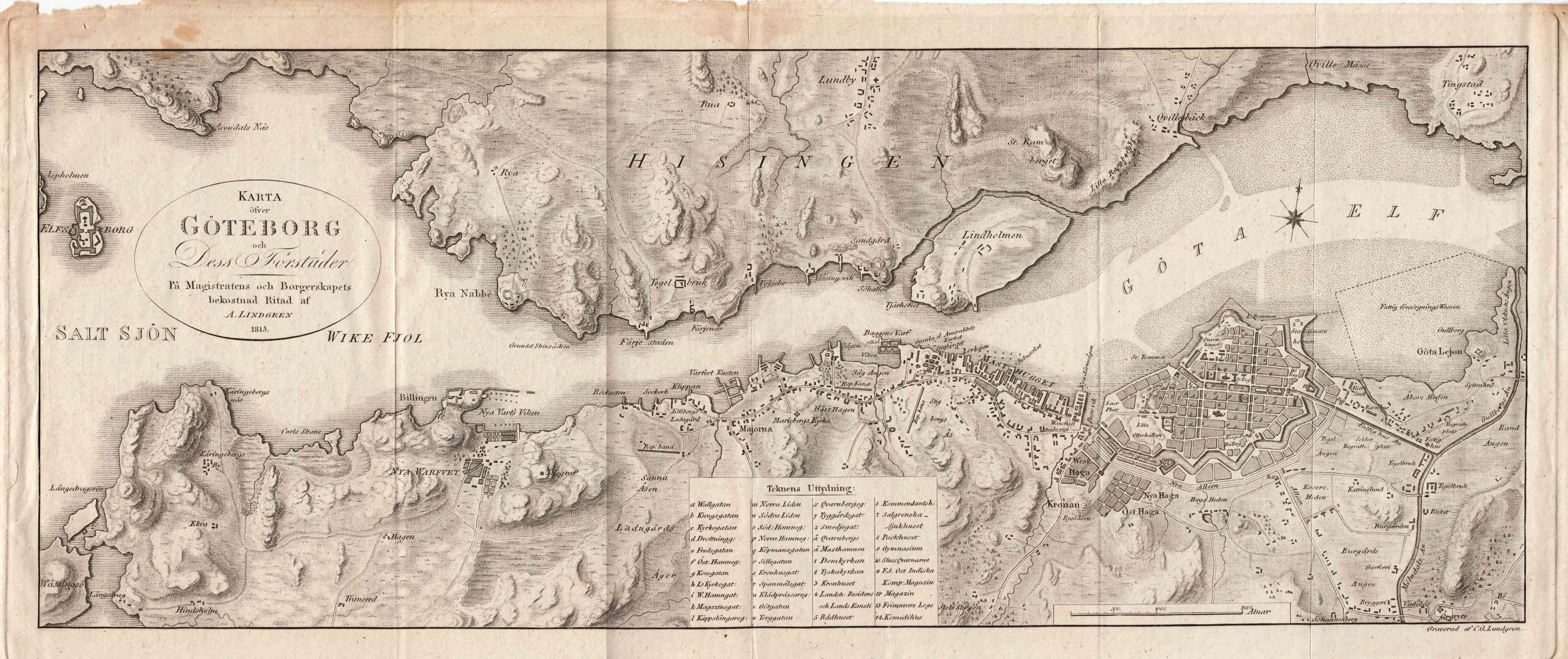 bergakungen göteborg karta Fil:Map GotebLindgren 1815. – Wikipedia bergakungen göteborg karta