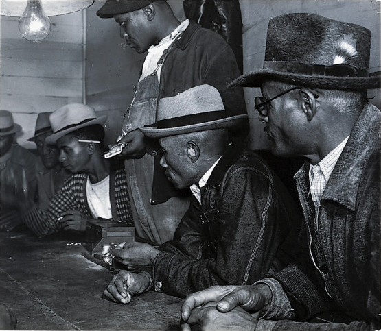Marion Post Wolcott - Gambling with their cotton money.jpg