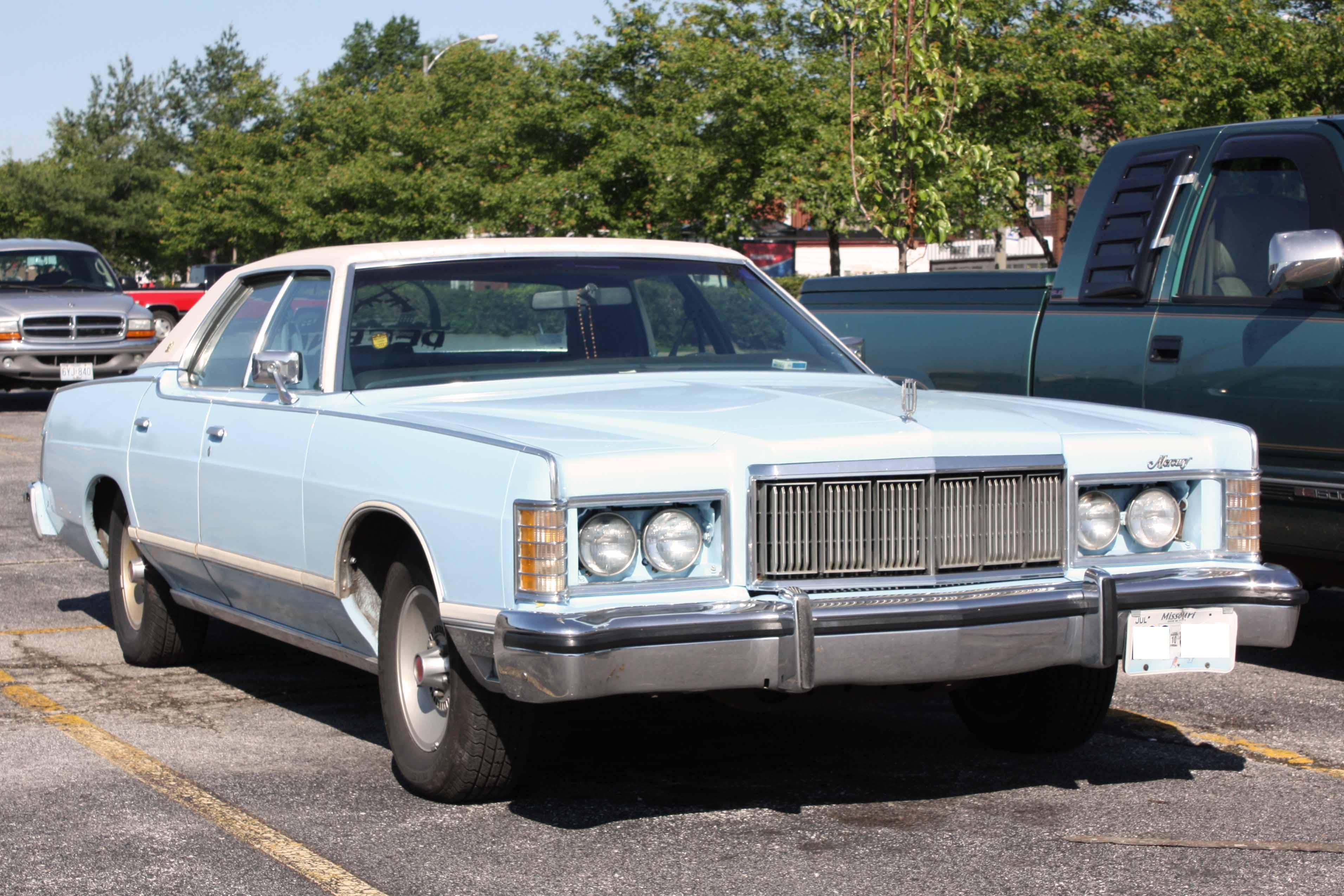 1975 1978 Grand Marquis 4-door sedan
