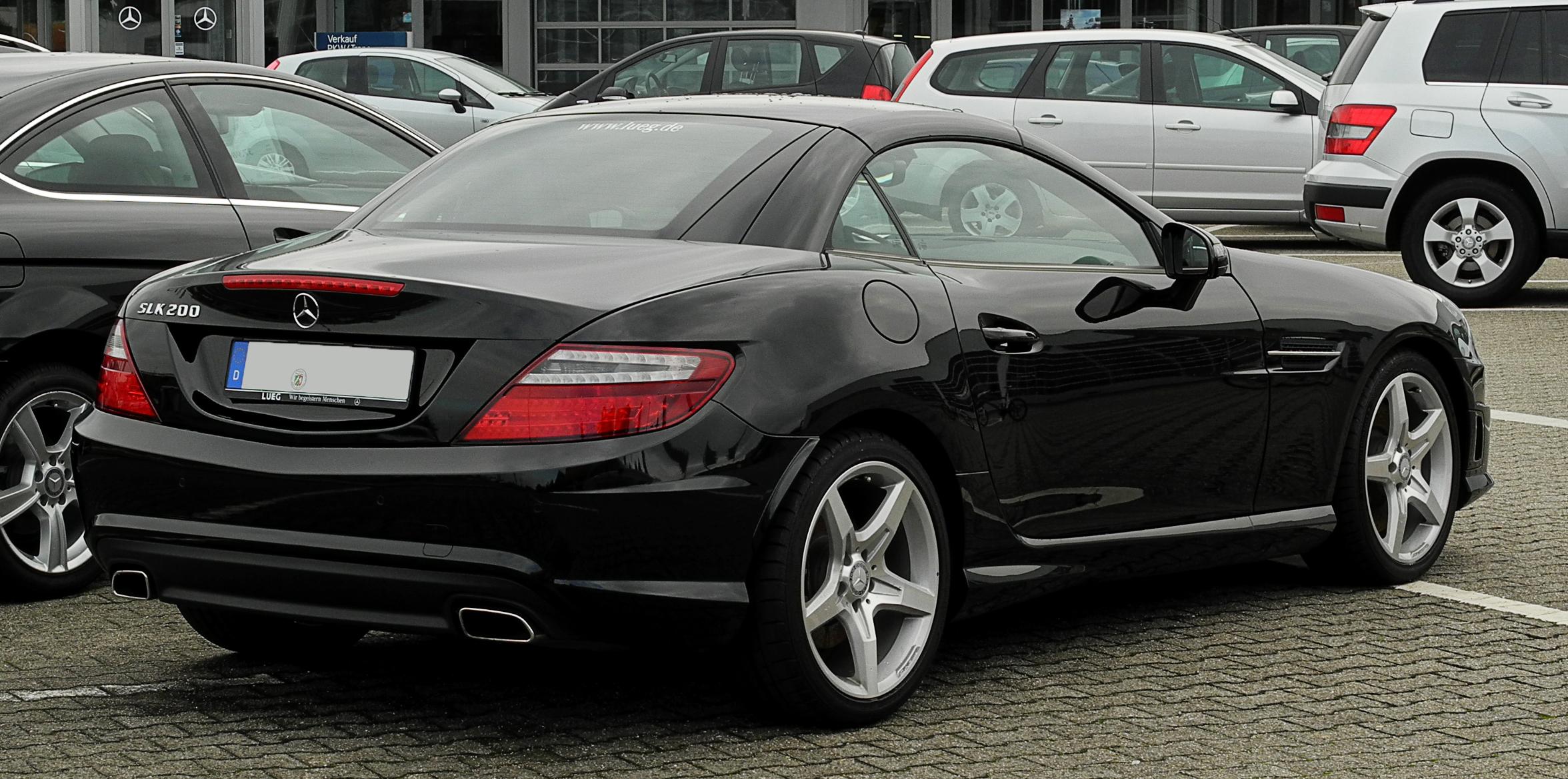 File Mercedes Benz Slk 200 Blueefficiency Sport Paket Amg R 172