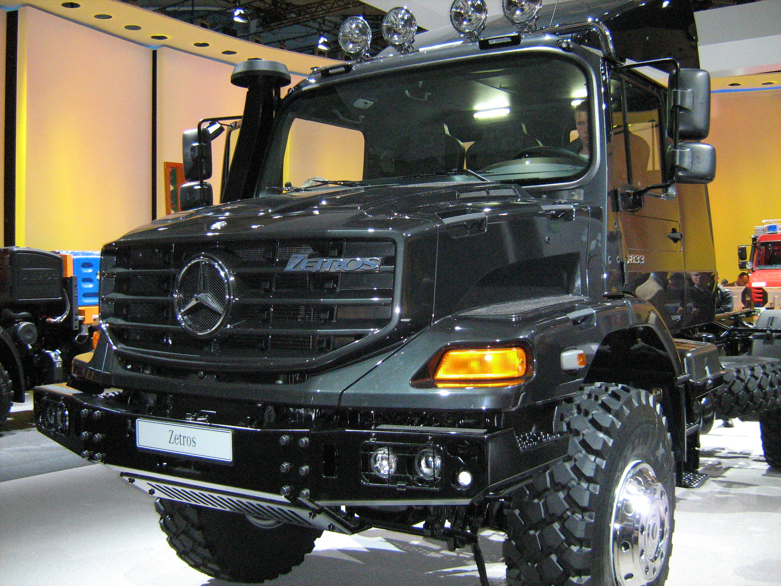 Mercedes Zetros Camping Car