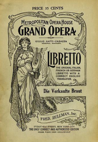Carmen libretto (English) - opera by Georges Bizet