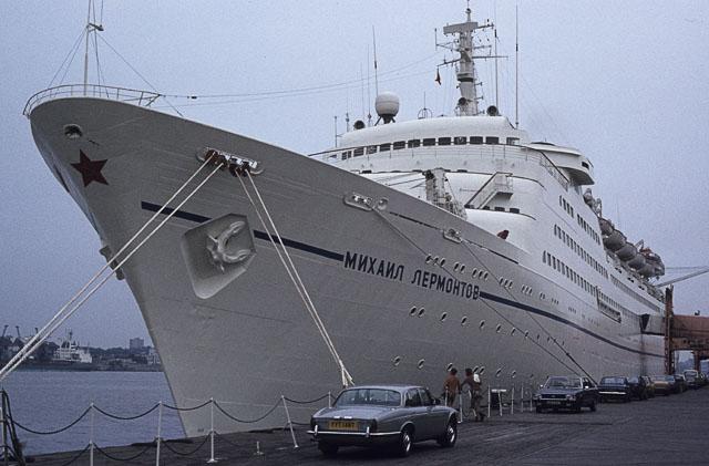 Mikhail Lermontov shipwreck