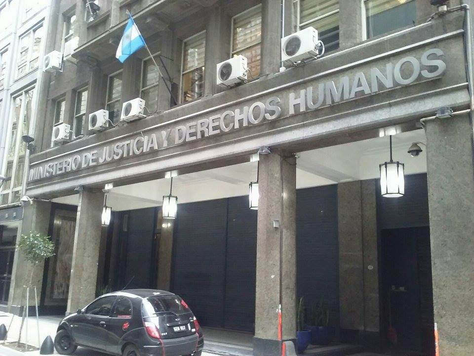 Ministerio de justicia y derechos humanos argentina for Logo del ministerio de interior y justicia