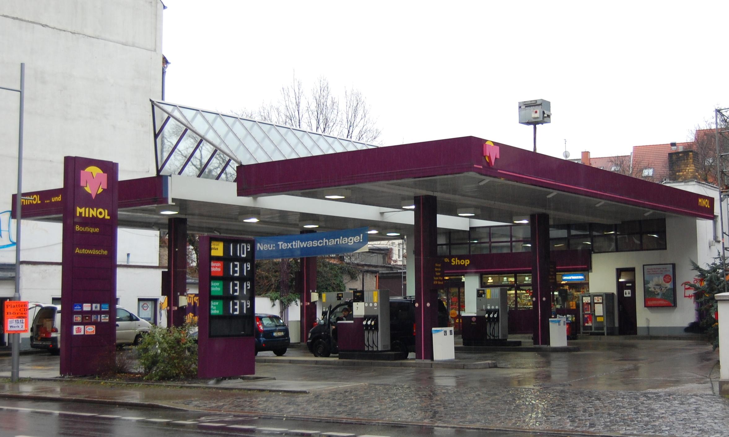 Tankstelle Leipzig