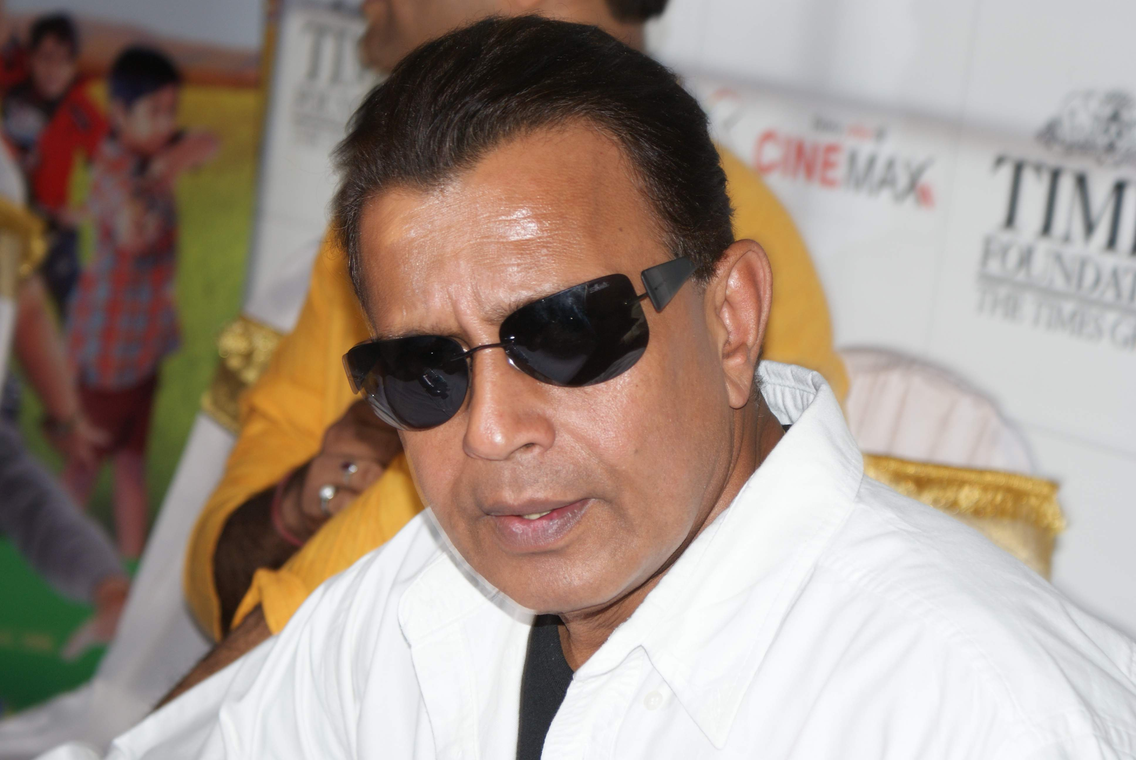 Photograph of Mithun Chakraborty
