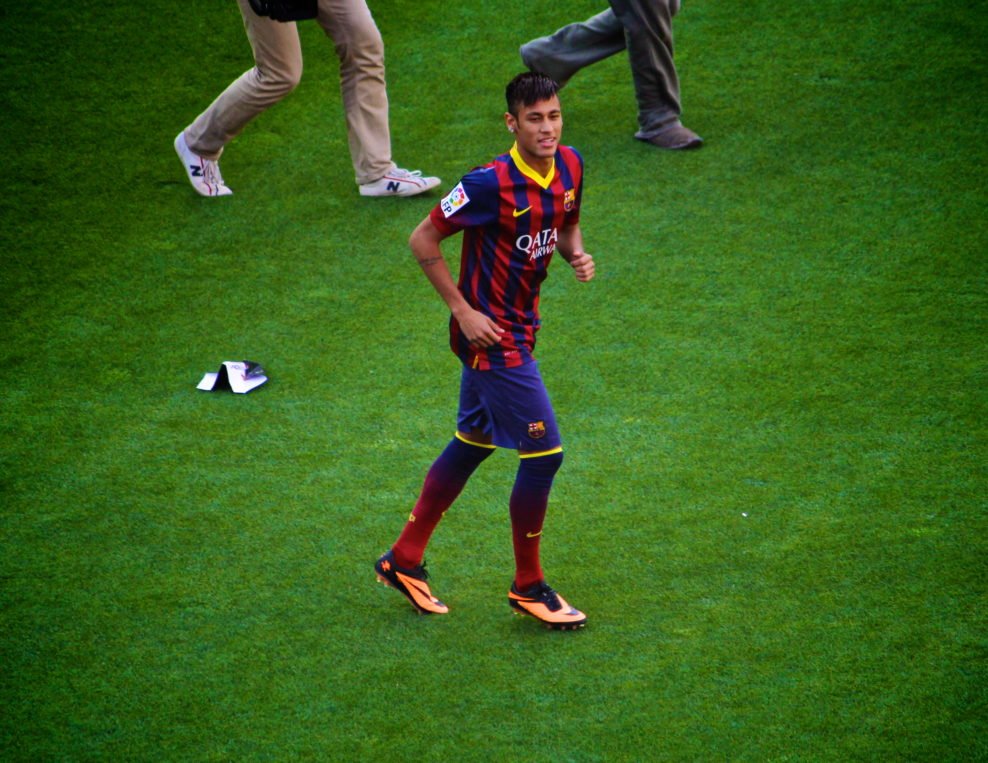 Neymar Barcelona debut
