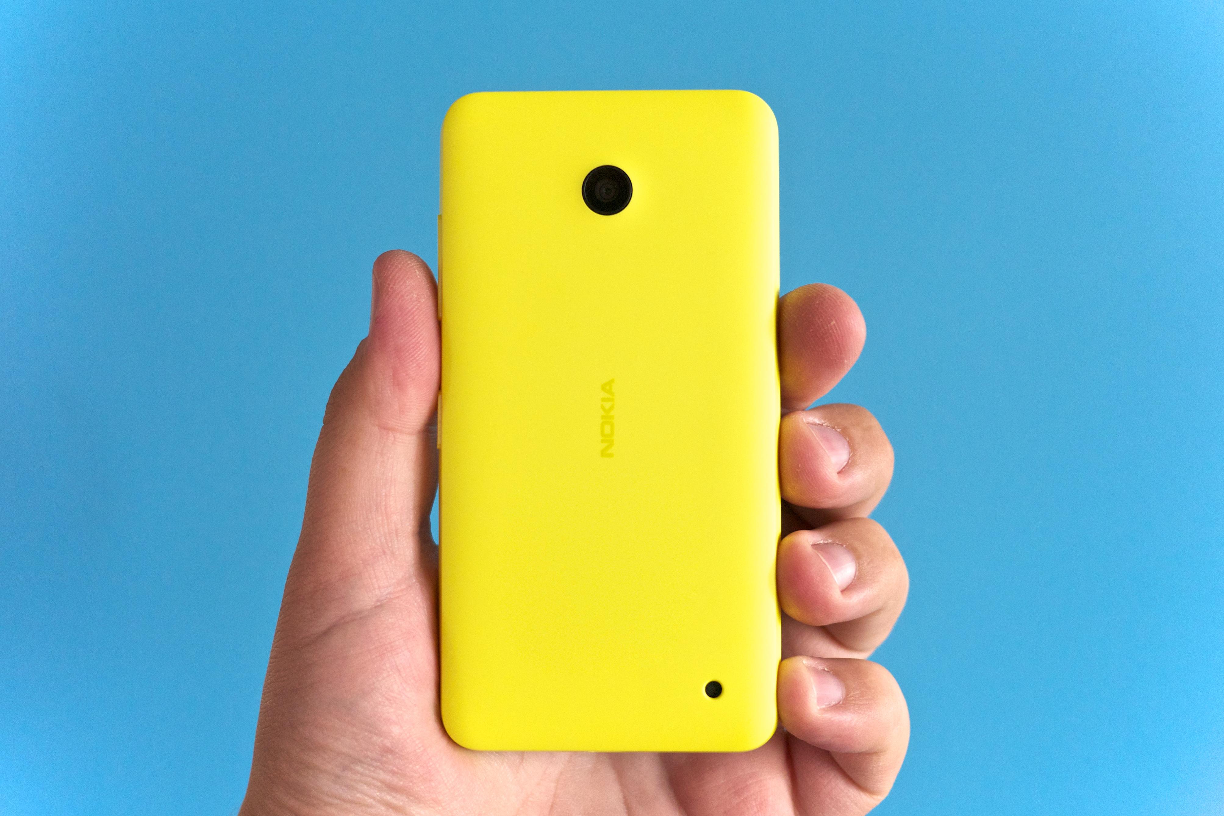 Nokia Lumia 630 Xl Yellow