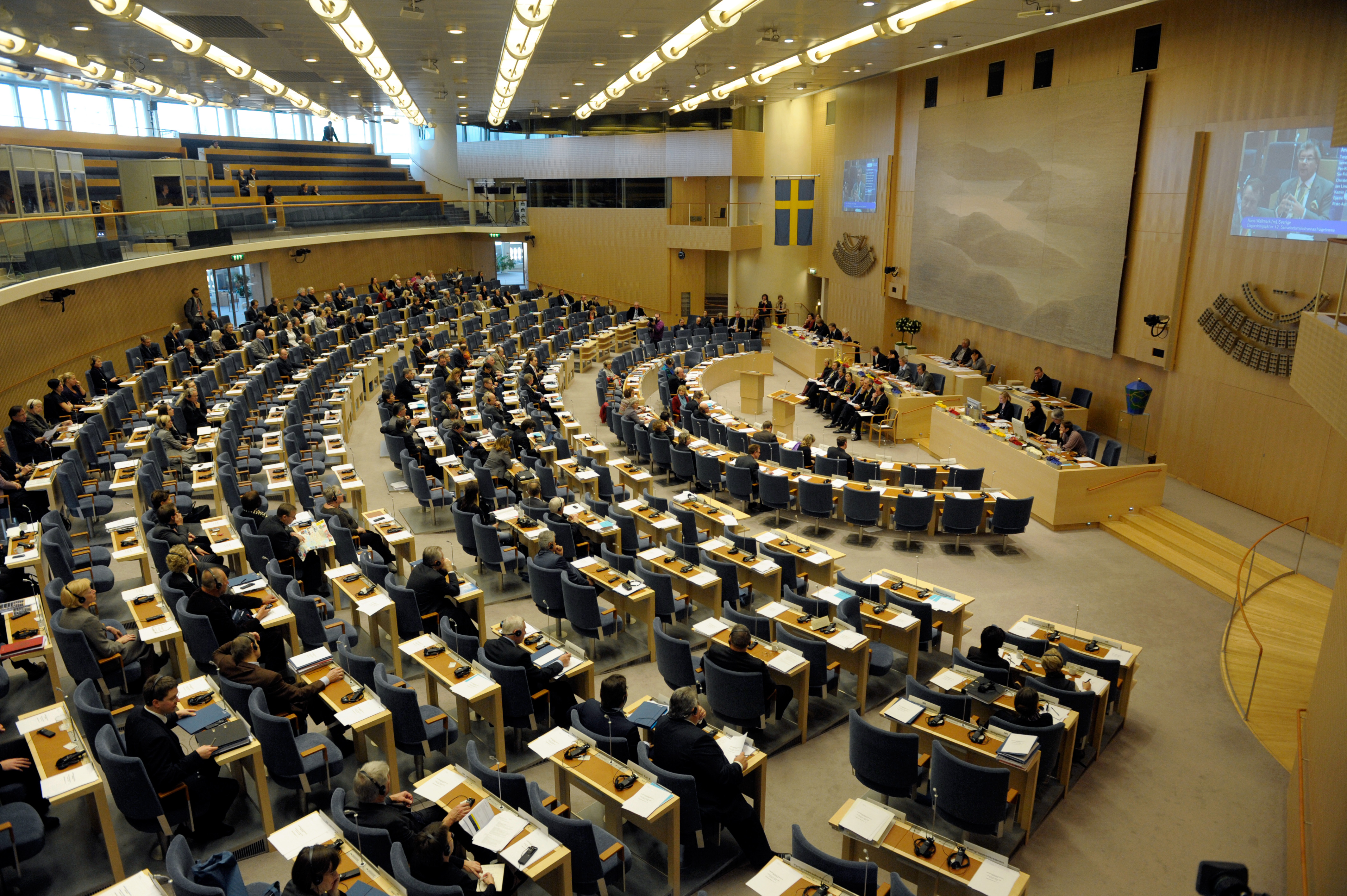 Filenordiska Radets Session I Riksdagen I Stockholm  Jpg