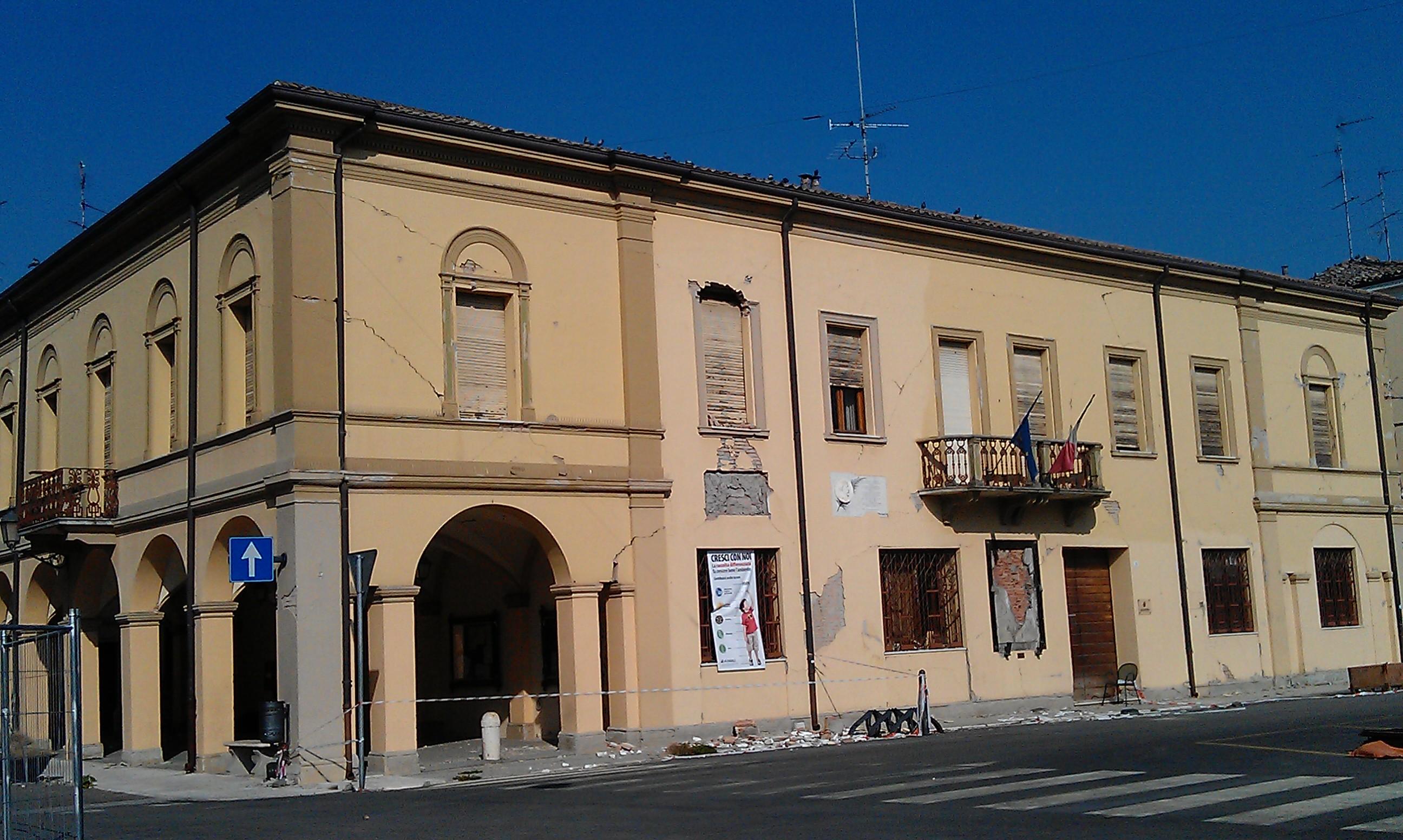 File Novi Di Modena Palazzo Comunale One Month After The