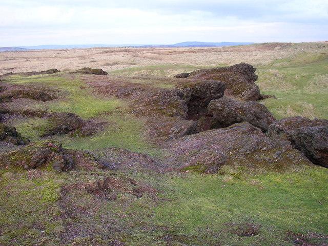 On top of the cinder rocks, Baildon Moor - geograph.org.uk - 341877