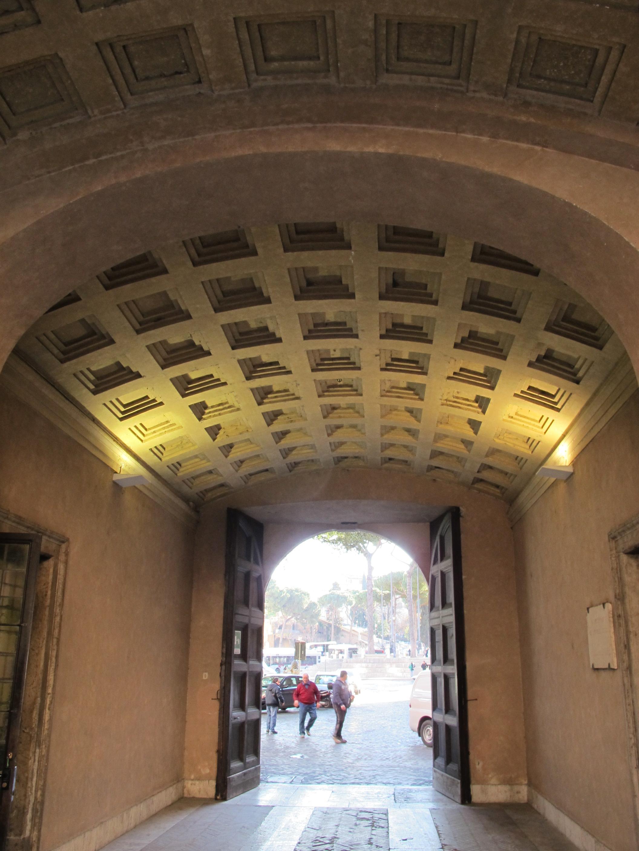 File palazzo venezia volta in calcestruzzo for Ca roma volta mantovana
