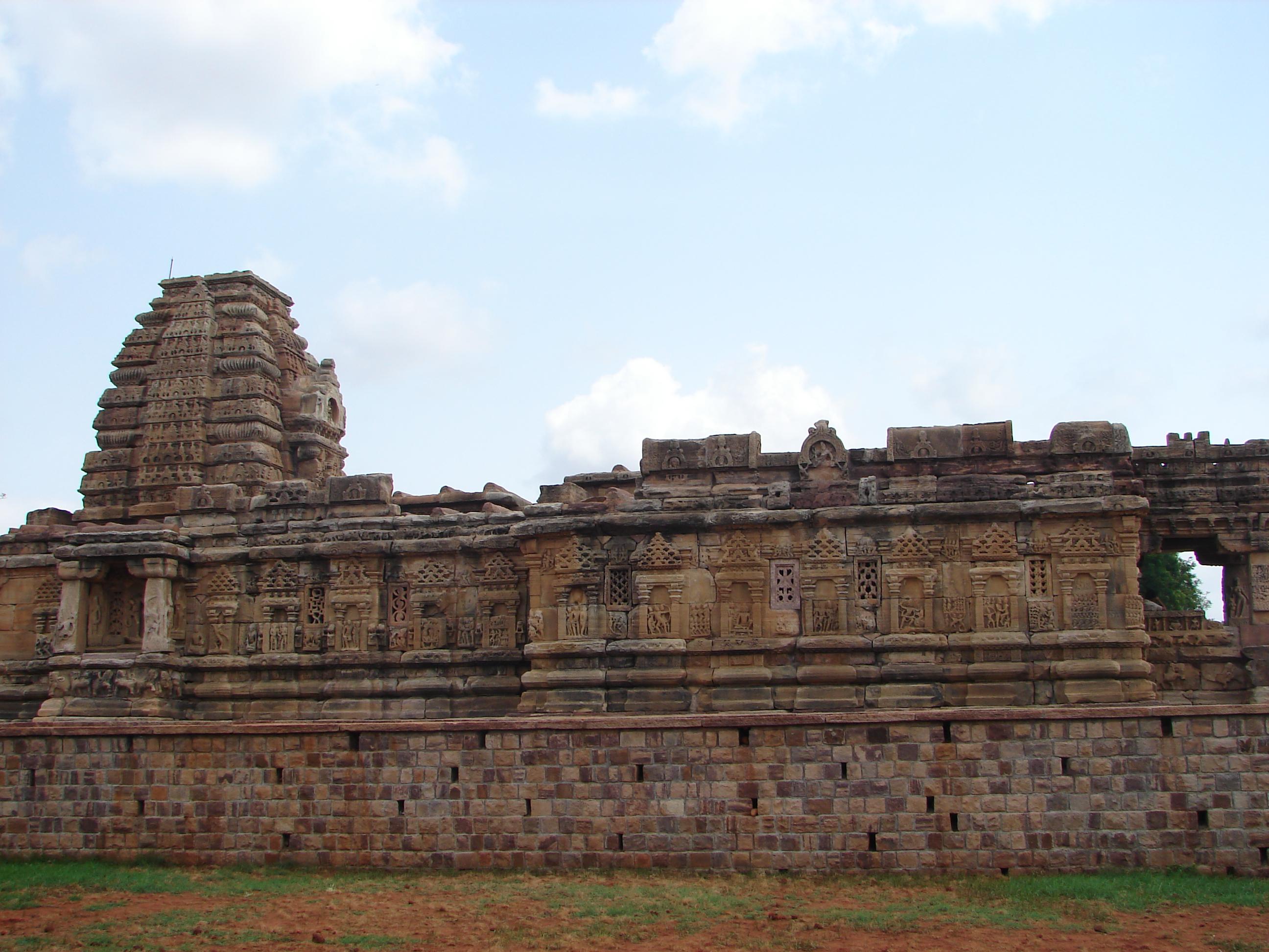 Papanatha temple at Pattadakal