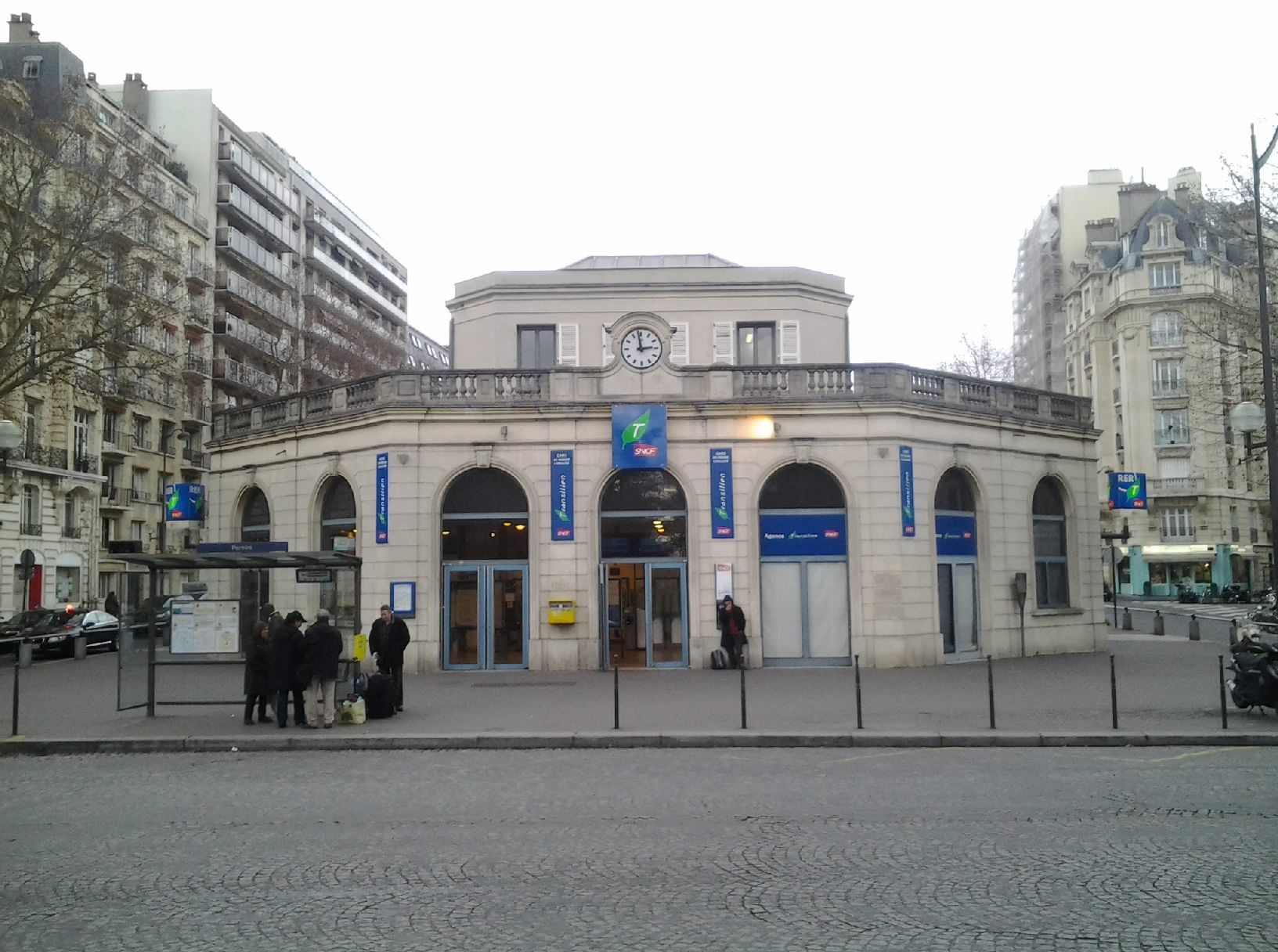 file 17e gare de pereire levallois rer c janvier 2014 jpg wikimedia commons