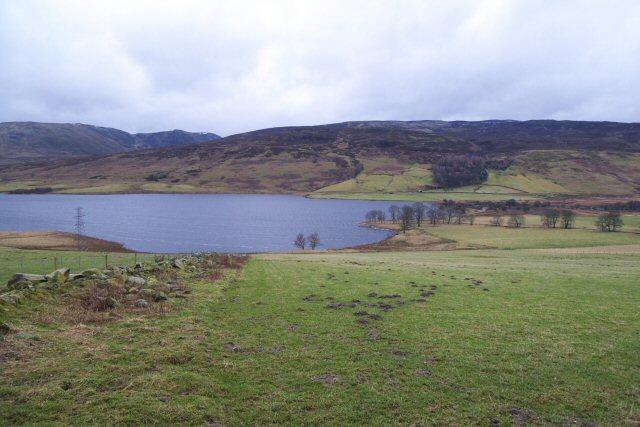 Pasture above Loch Freuchie - geograph.org.uk - 1173432