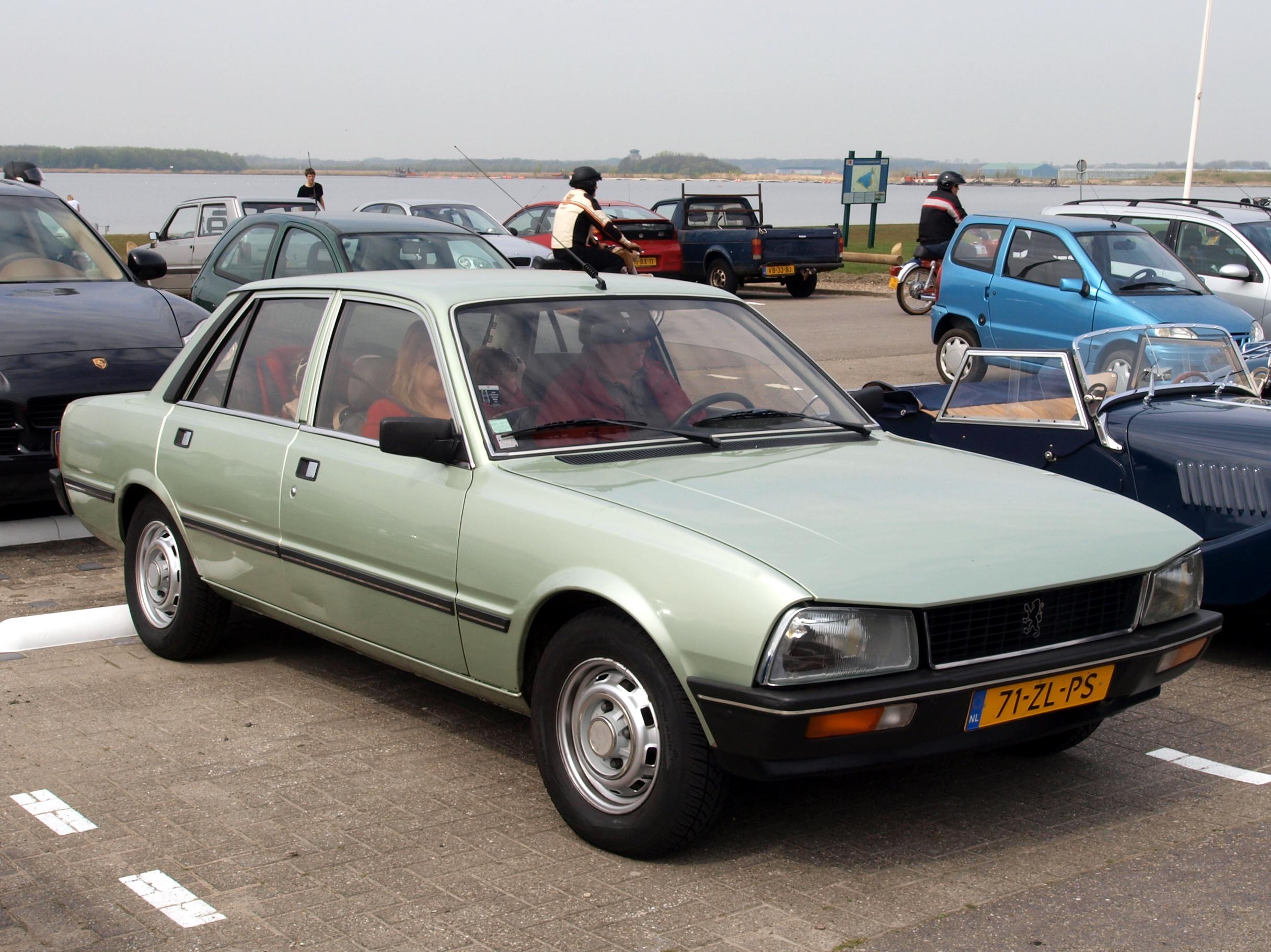 File:Peugeot 505 SR Automatique (1979), Dutch licence registration
