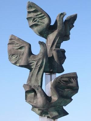 Pomnik Czynu Polaków w Szczecinie.