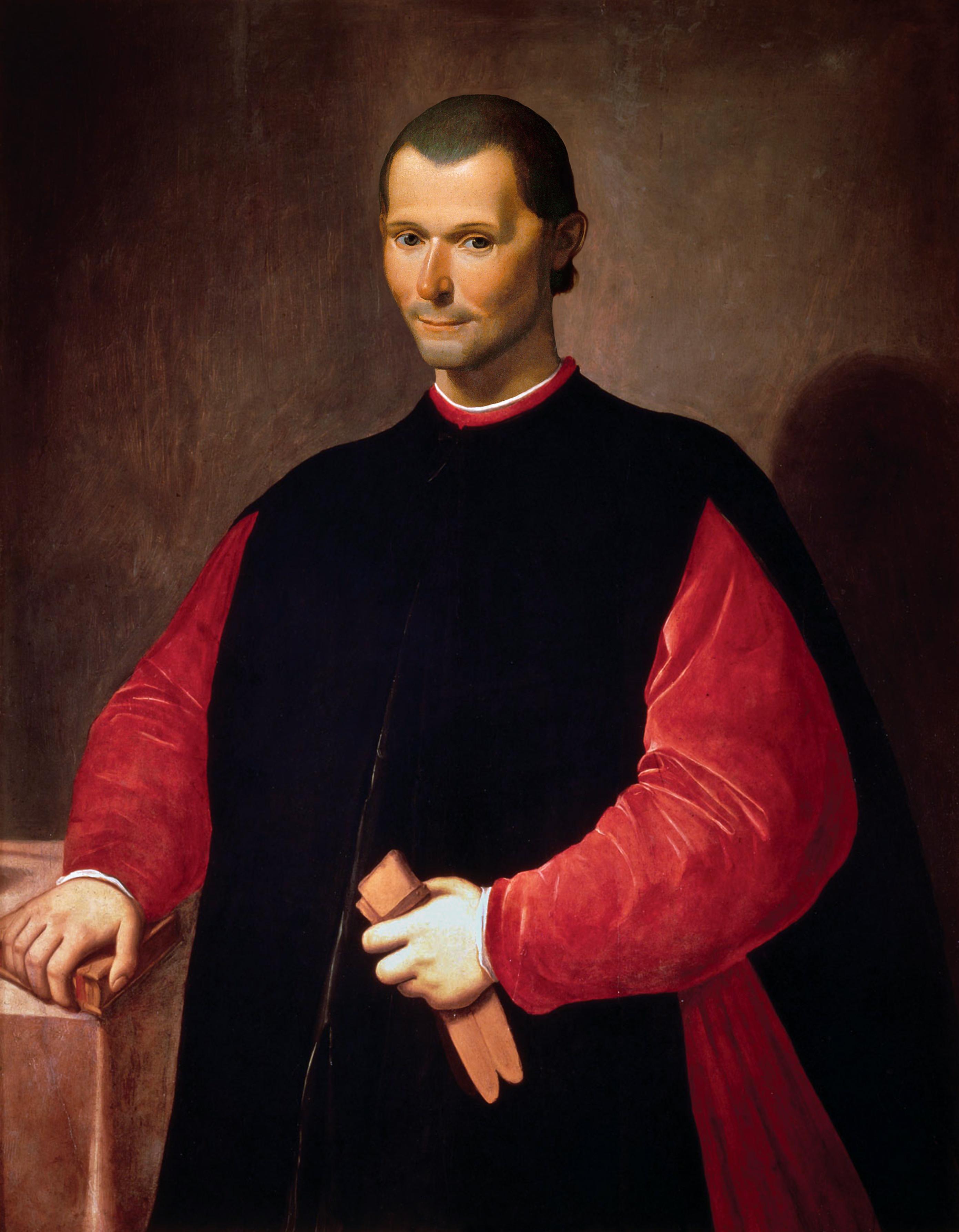 Poet Niccolo Machiavelli