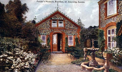 Walter Potter's museum at Bramber, Sussex, UK