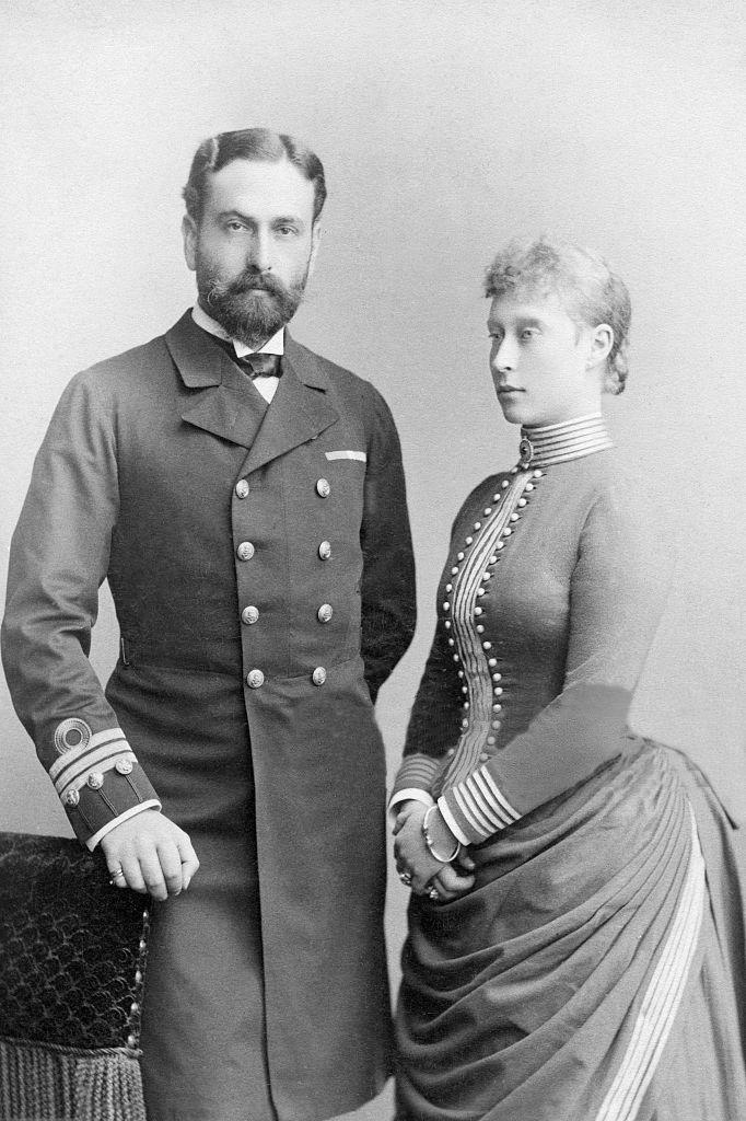 Фрейлина русской императрицы, прабабушка Филиппа Эдинбургского