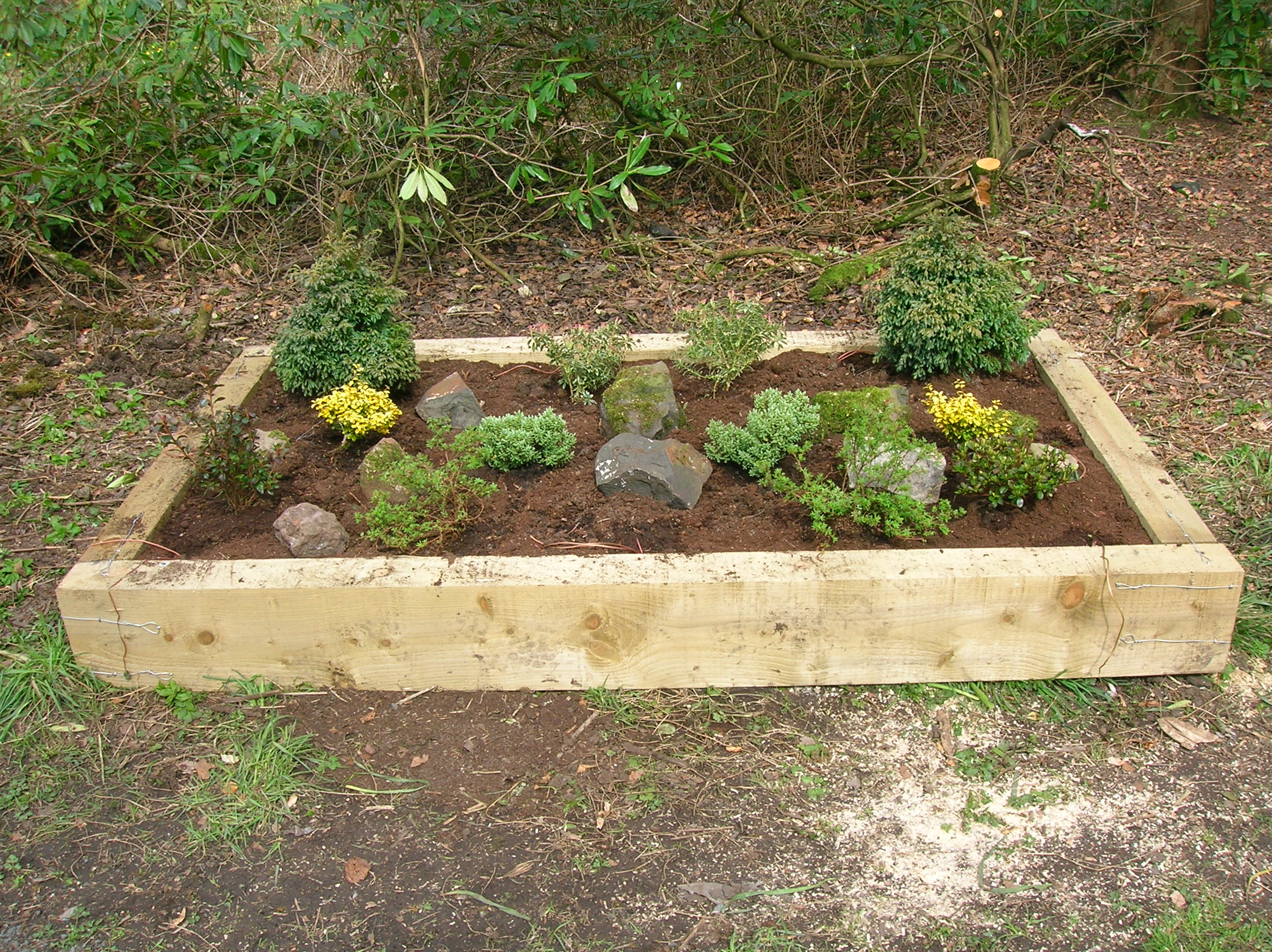File:Raised Flower Bed At Spieru0027s.