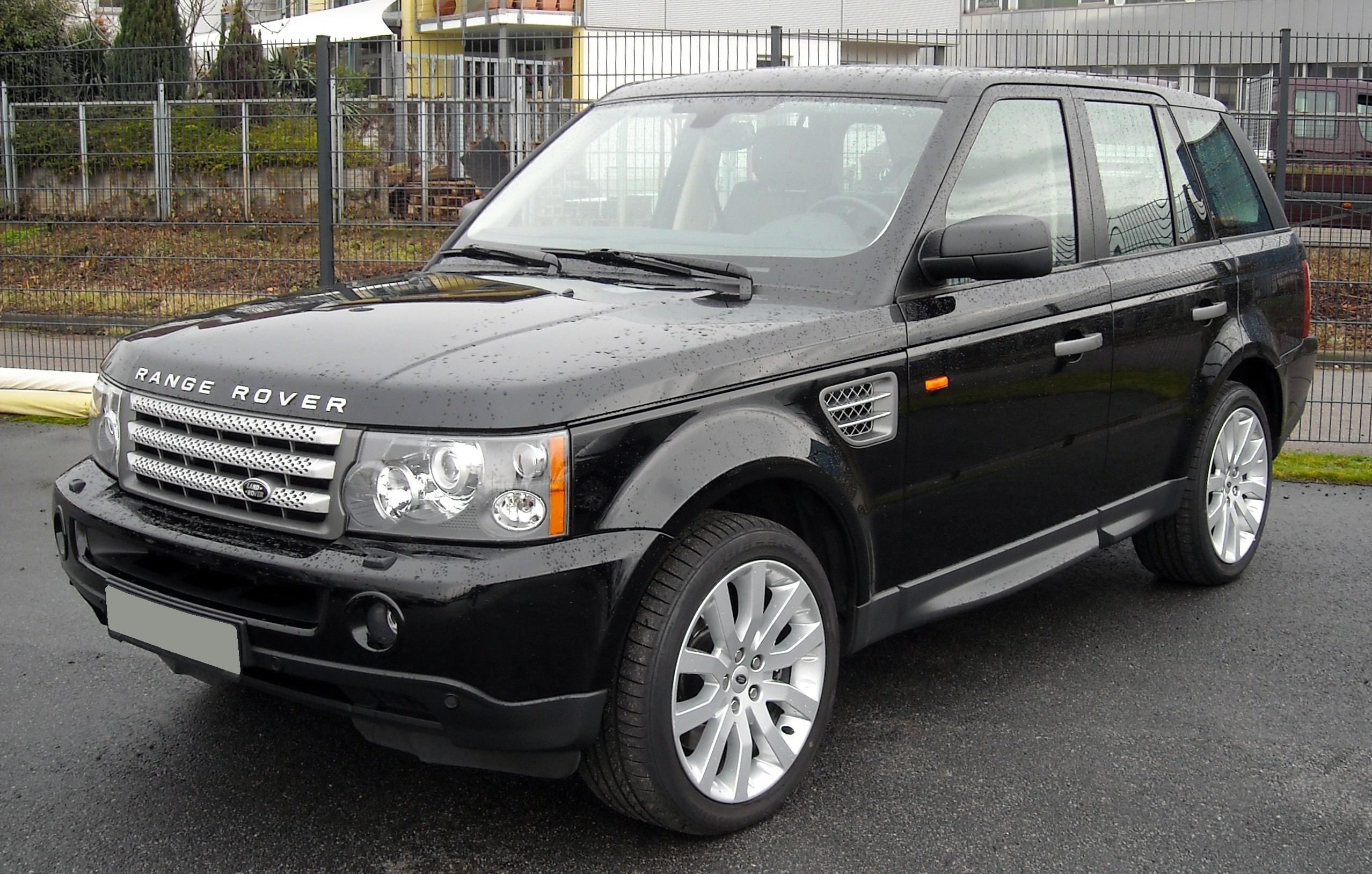 file range rover sport front wikimedia commons. Black Bedroom Furniture Sets. Home Design Ideas