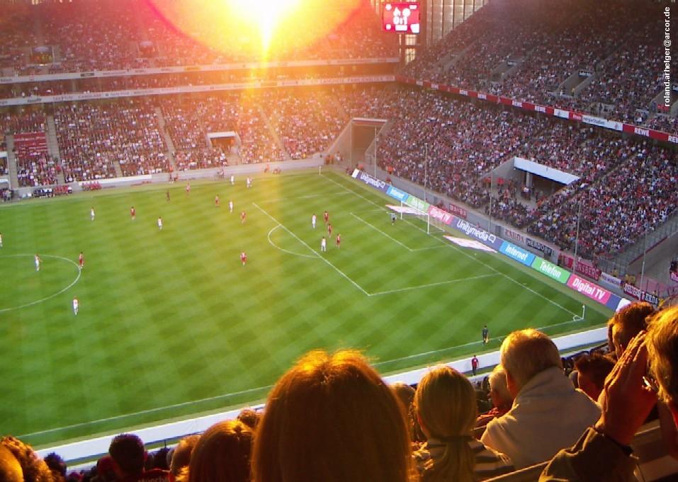 Juli 2007 (Freundschaftsspiel 1. FC Köln gegen Bayern München)