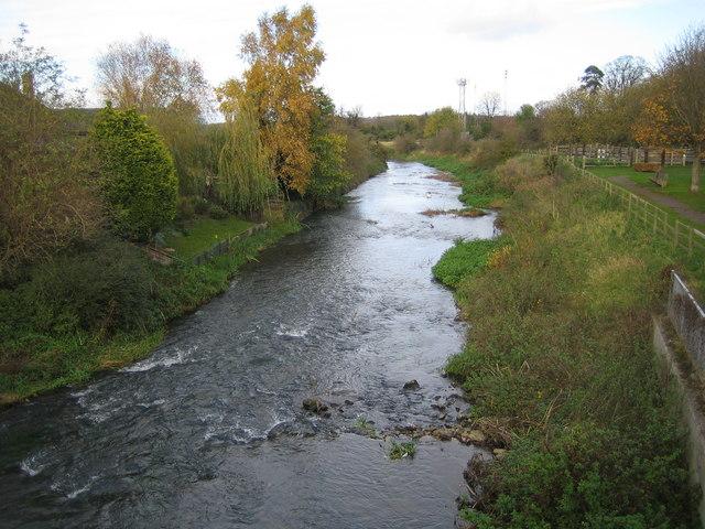 River Ivel in Biggleswade - geograph.org.uk - 612540