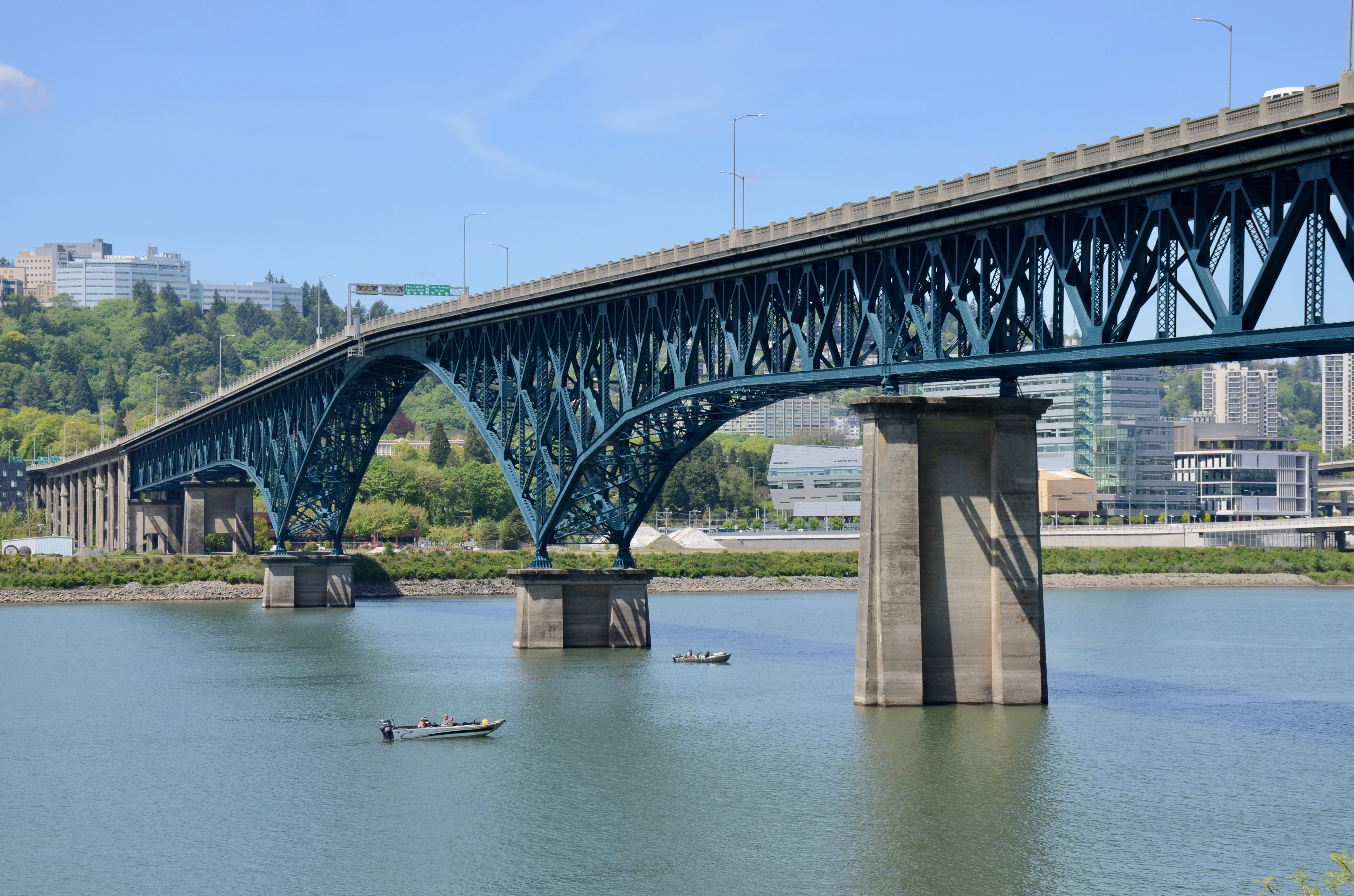 Ross Island Bridge - Wikipedia