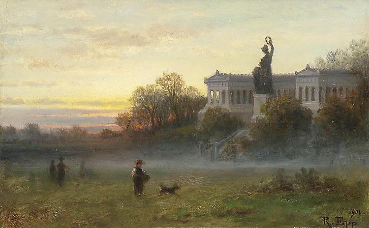 Theresienwiese von Rudolf Epp