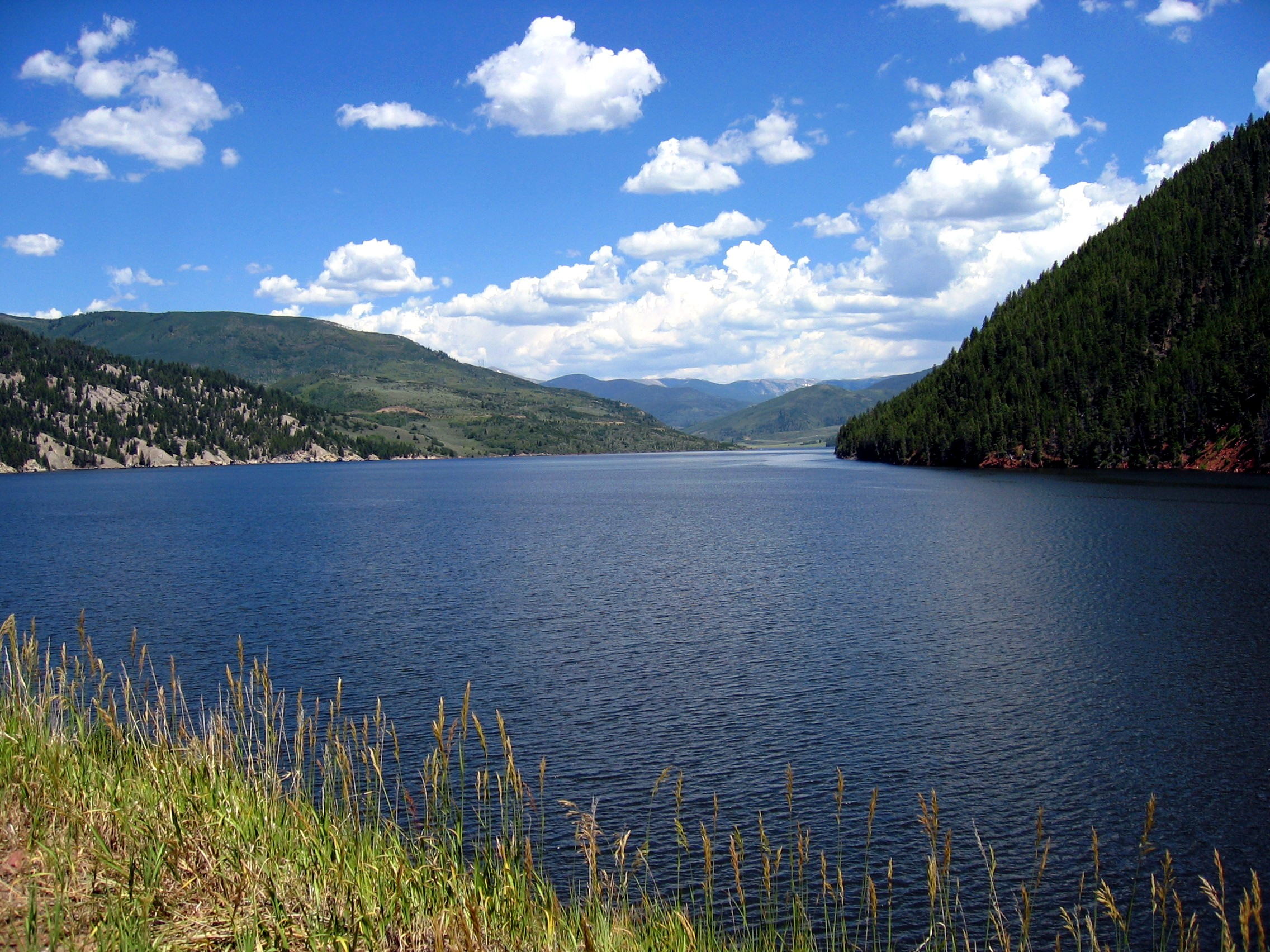 Description ruedi reservoir
