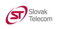 """Slovak Telecom logo, 2004-'06. By that time, it was one of the few Deutsche Telekom companies without the Telekom """"T"""" in its logo."""