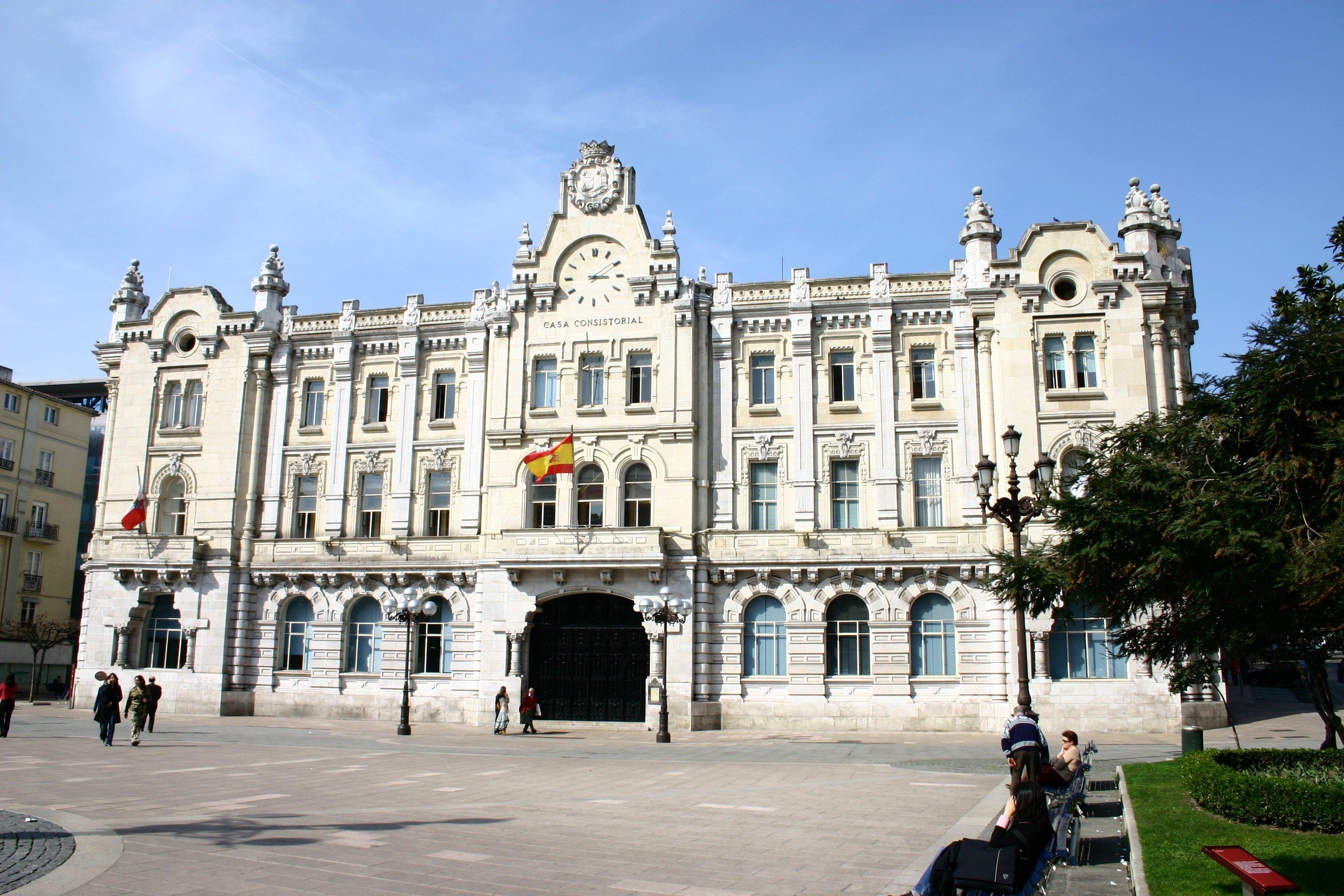 Ayuntamiento de Santander - Wikipedia, la enciclopedia libre