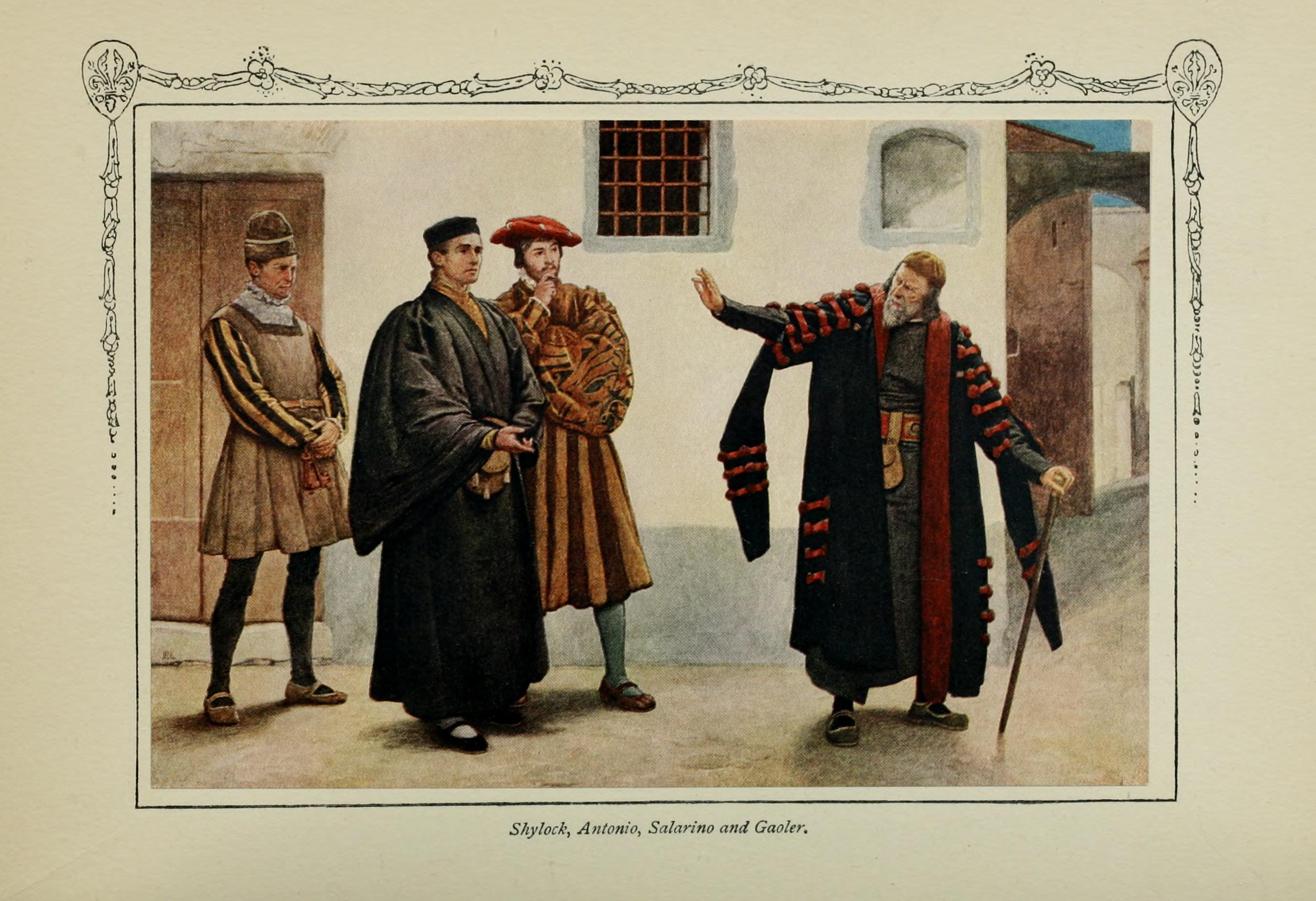 Shylock Is The Villian In Shakespeare's Merchant Of Venice