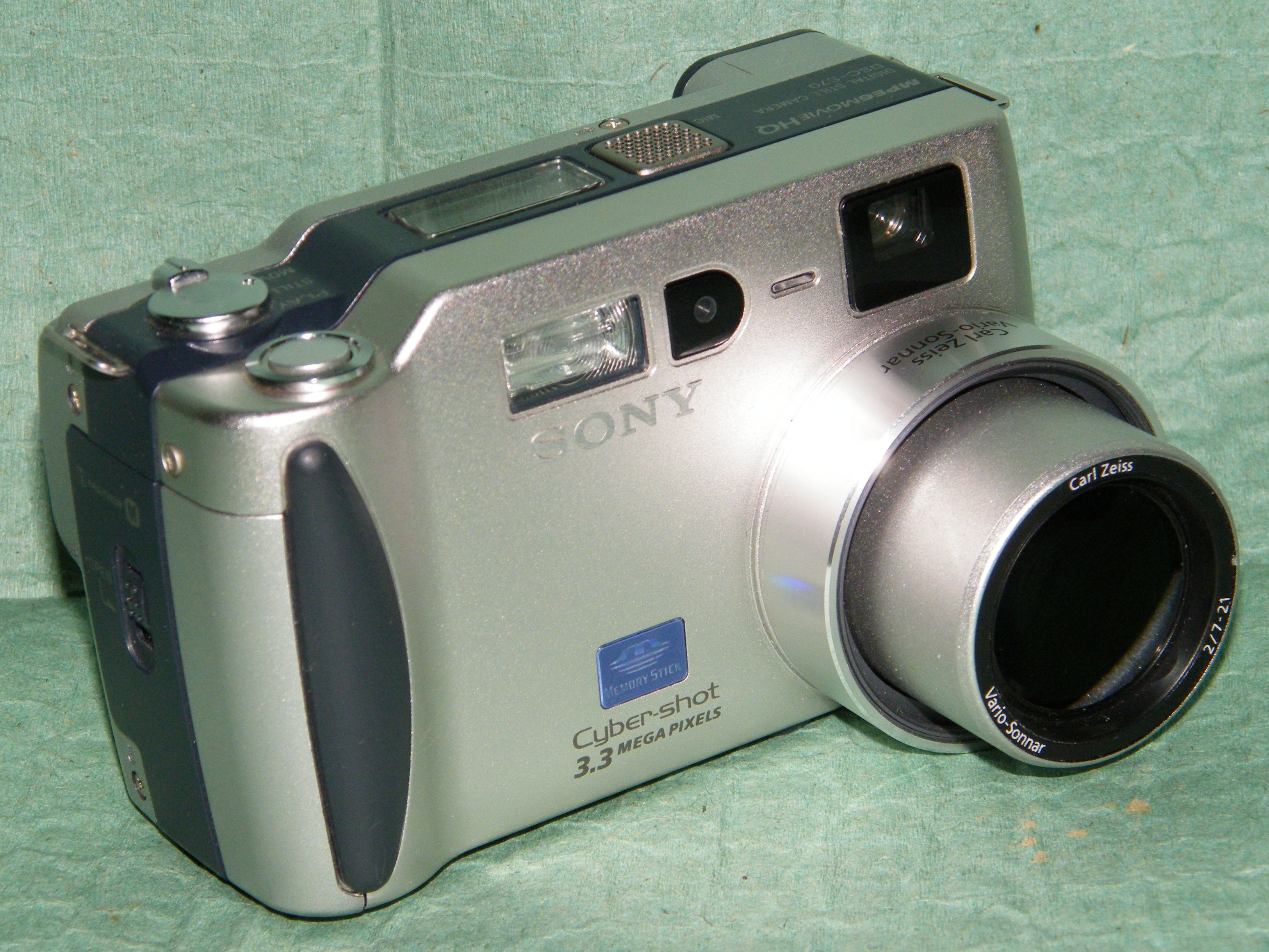 Sony DSC-S70 Camera USB Download Drivers