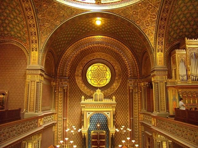 Spanish synagogue interior