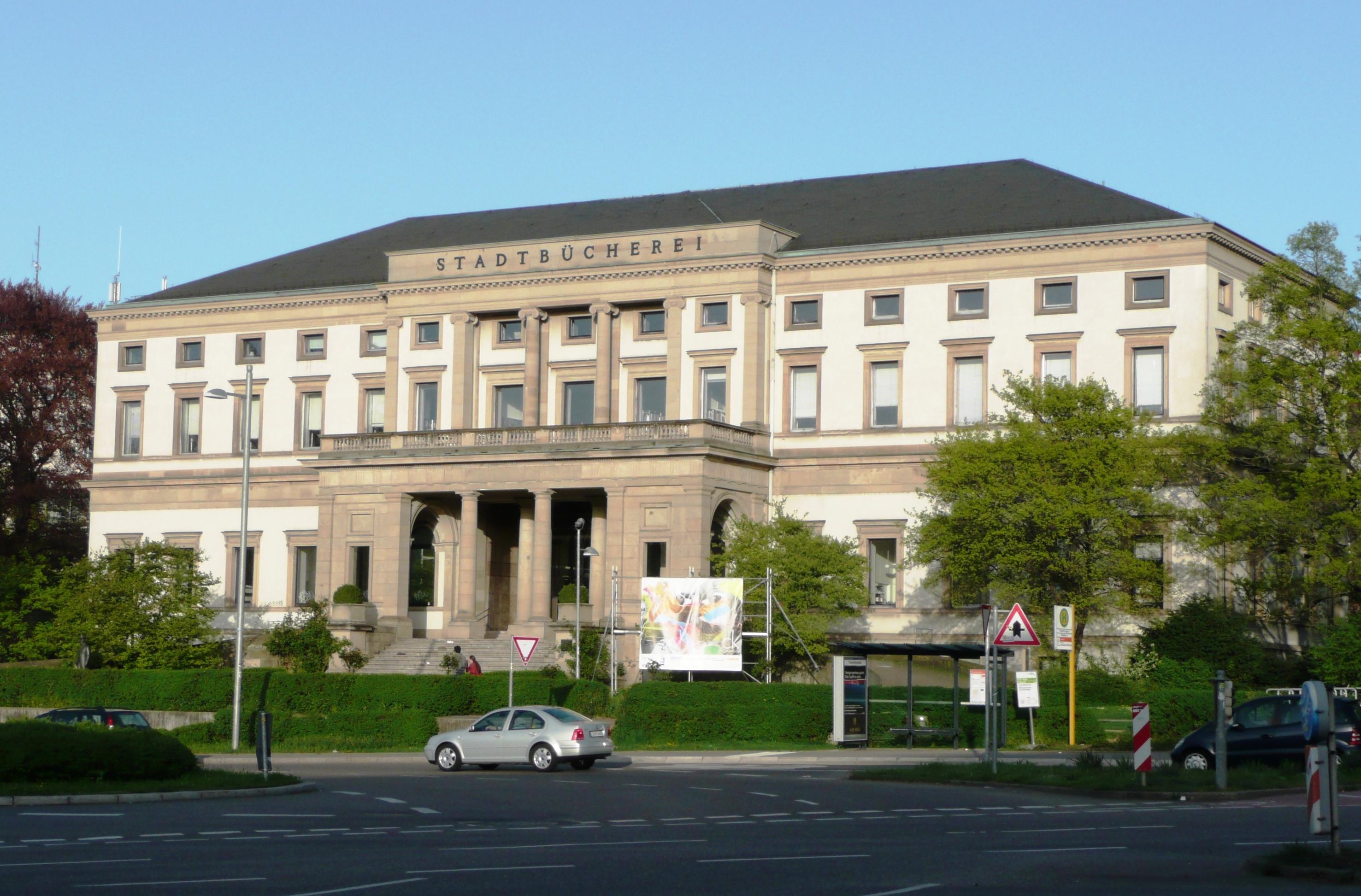 Stadtbibliothek stuttgart wikiwand for Who is perfect stuttgart