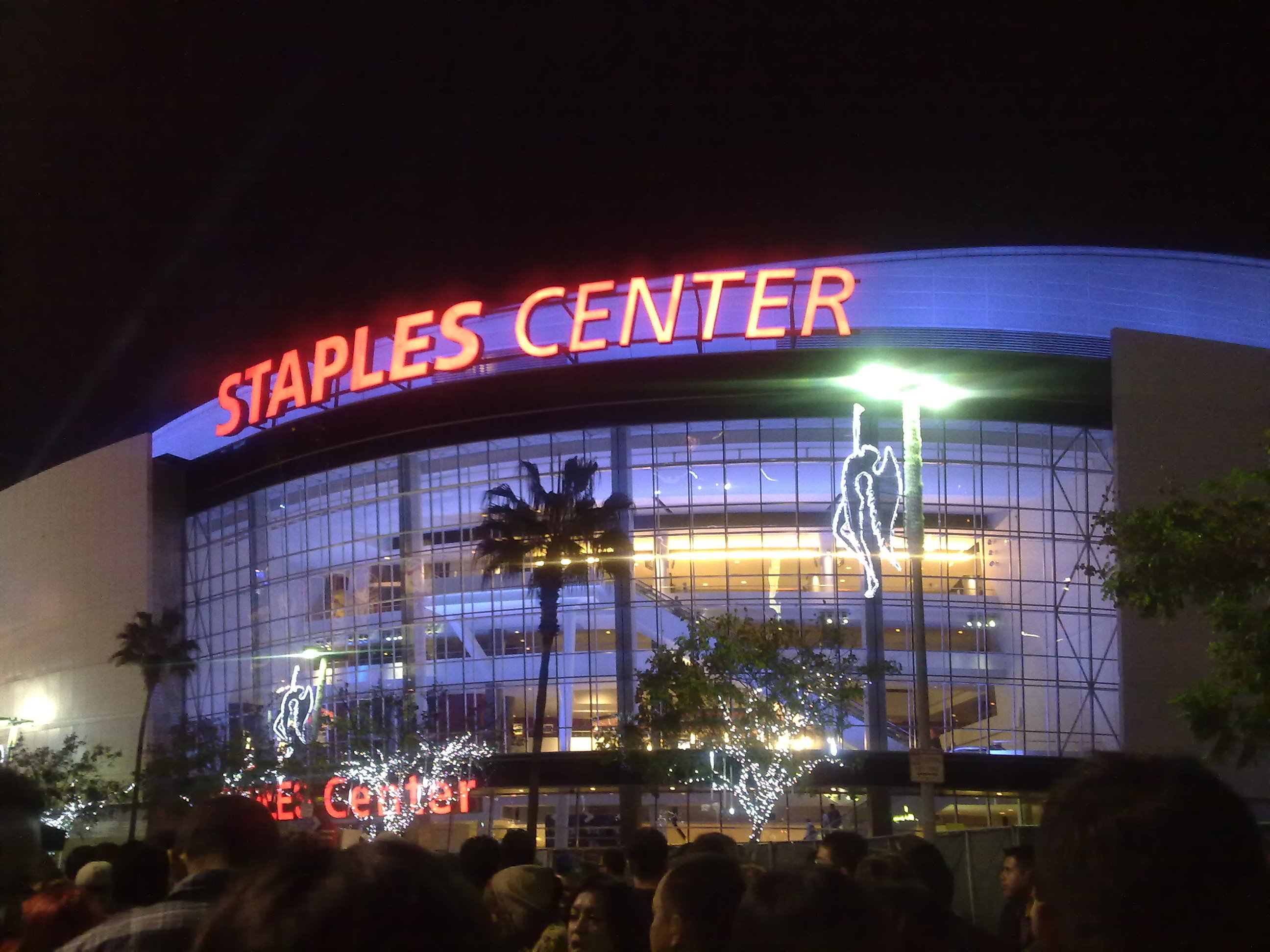 File:Staples Center Night.jpg