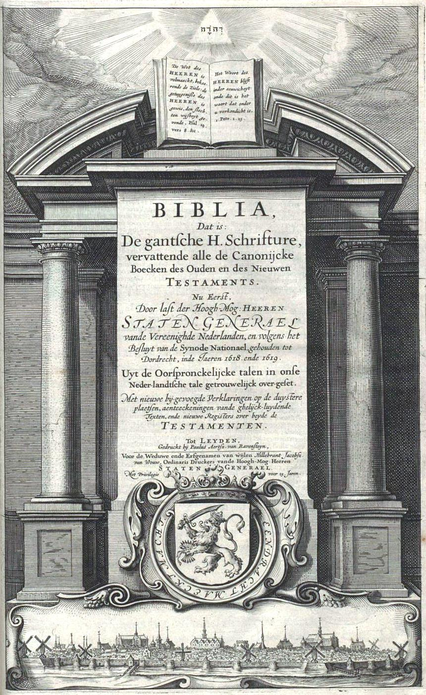 Bible Translations Into Dutch Wikipedia