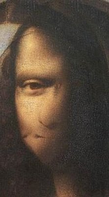 self potrait mona  lisa