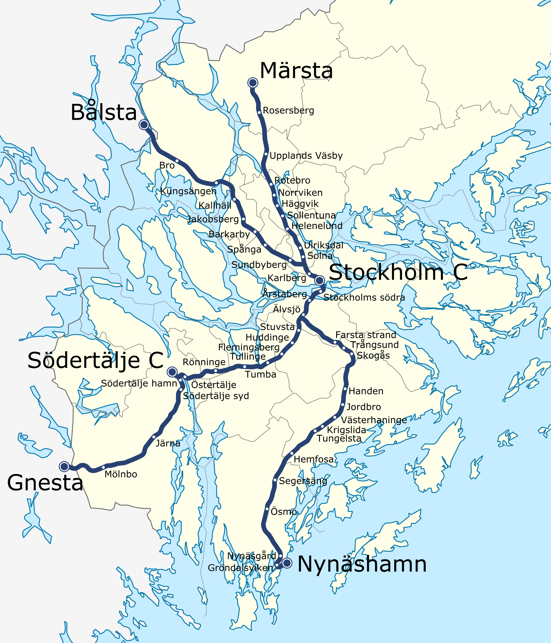FileStockholm commuter rail geographic mappng Wikimedia Commons