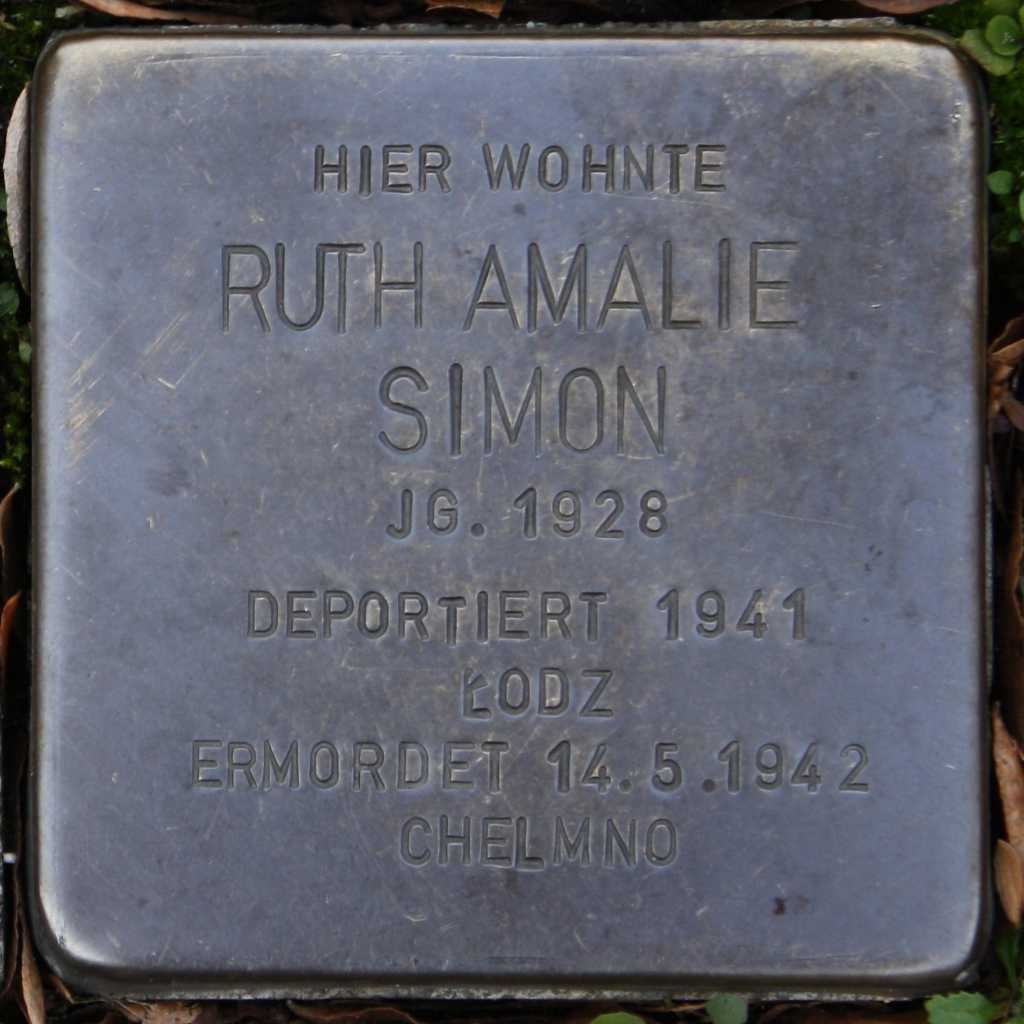 Stolperstein Ruth Amalie Simon Wuppertal.jpg