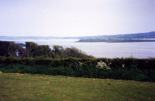 Strangford Lough from Delamont Country Park - geograph.org.uk - 507805