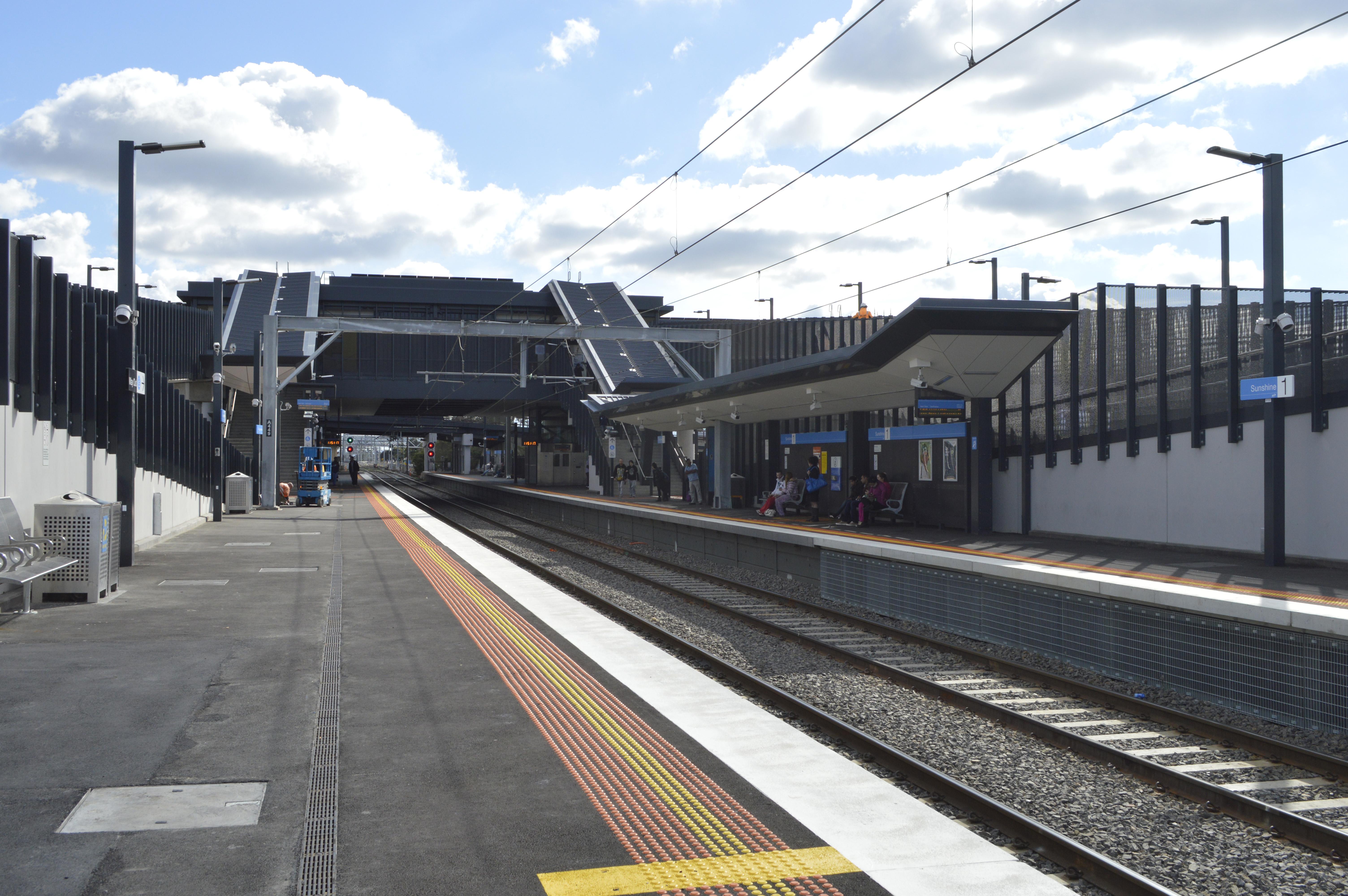 Sunshine Railway Station Melbourne Wikipedia
