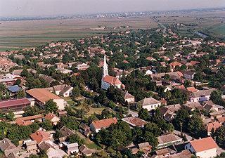 Skorenovac Village in Vojvodina, Serbia
