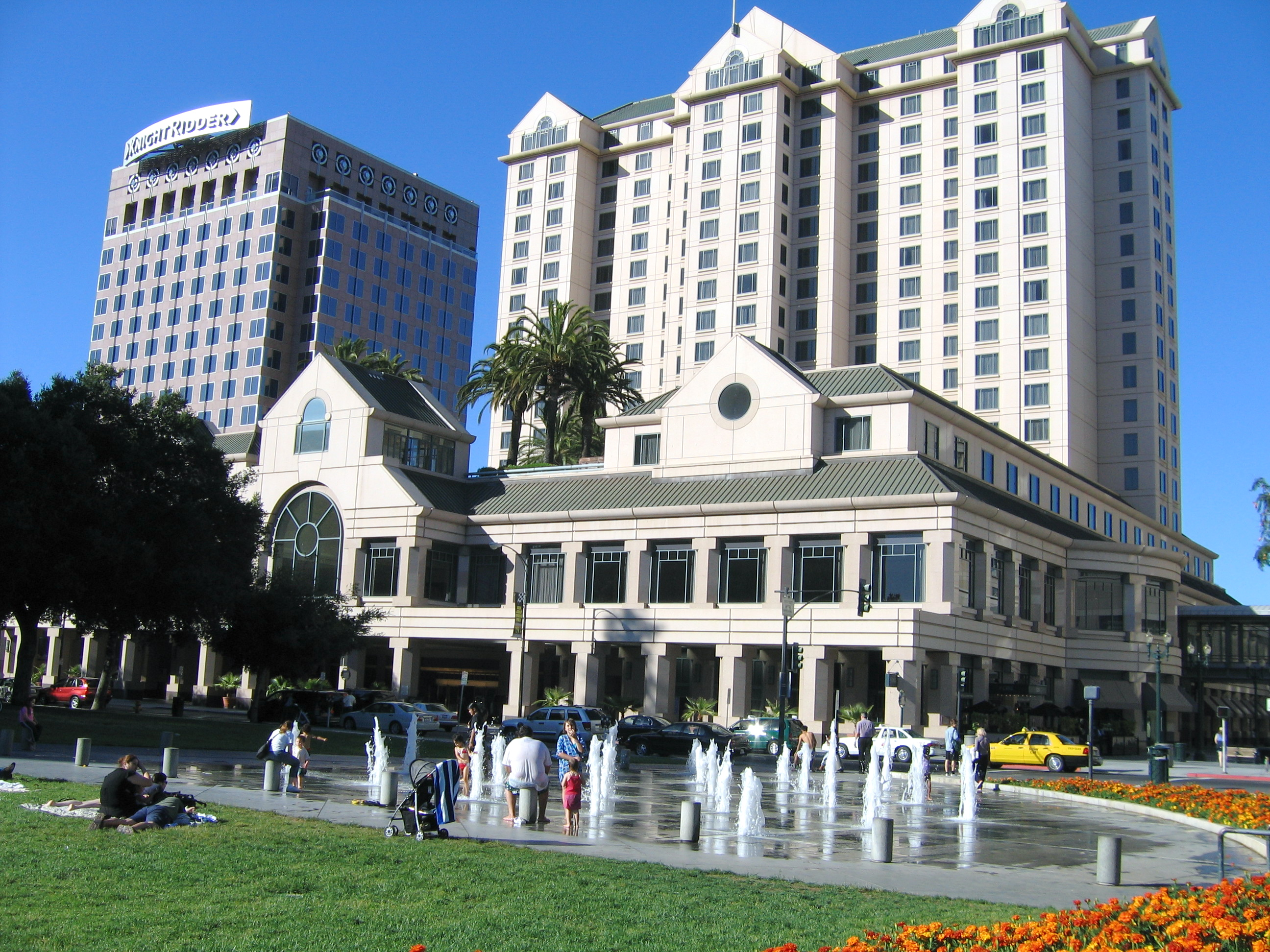 File The Fairmont Hotel In San Jose Jpg Wikimedia Commons