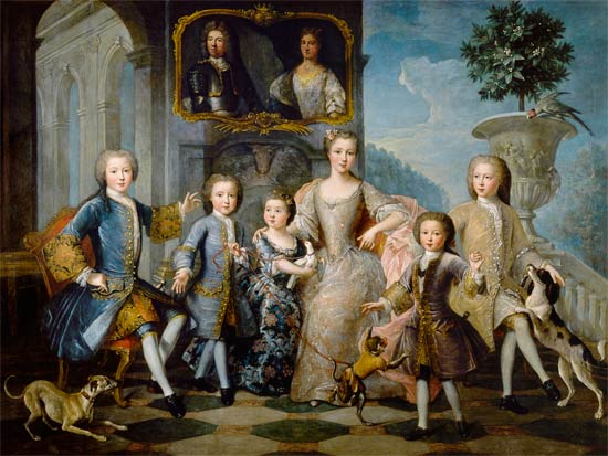 File The Family Of The Duke Of Valentinois Pierre Gobert
