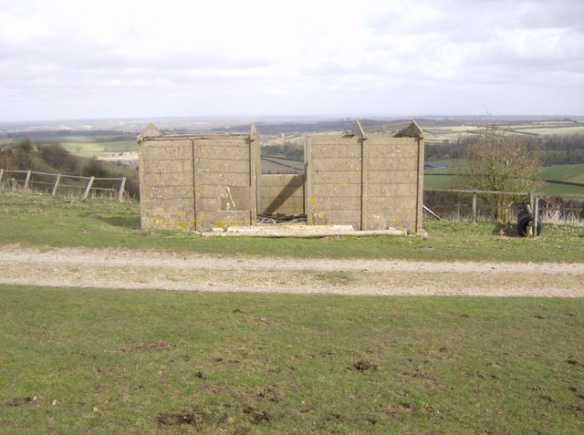 The Hut on Cannon Heath Down - geograph.org.uk - 361201